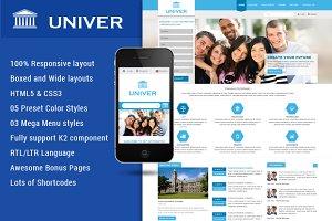 SJ Univer -Nice Educational Template