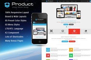 Product - Responsive Joomla Template