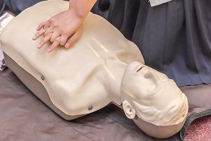 modeling of dummy for CPR training