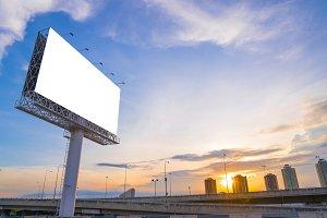 billboard for new advertisement