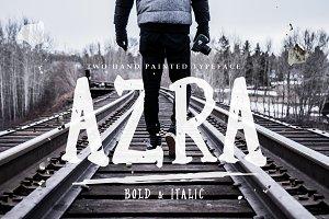 Azra Typeface