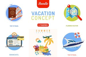 Vacation and Tourism Concepts