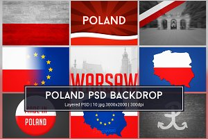 Poland Background PSD