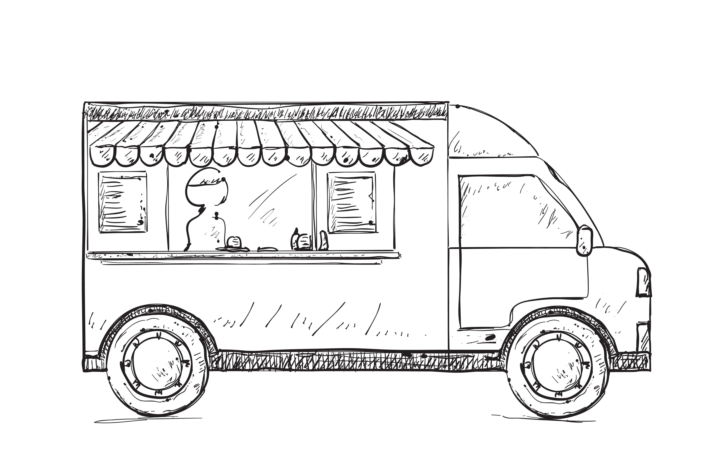 Food truck ~ Illustrations ~ Creative Market