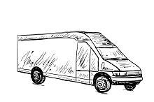 Commercial transport. Truck