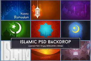 Islamic Background PSD
