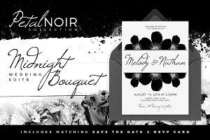 Petal Noir - Midnight Bouquet