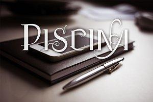 Piscina Vtks fonts ( 5 fonts )