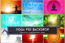 Yoga Background PSD