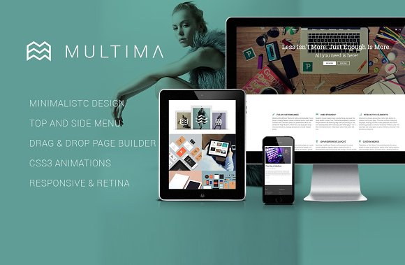 Multima – Multipurpose WP Theme