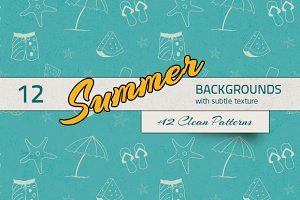 Summer Backgrounds & Patterns