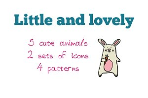 Little and lovely - pets pattern set