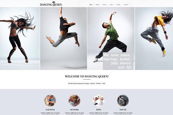 Hip Hop Web Design Templates