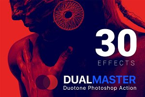 DualMaster Duotone Photoshop Action