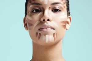 face contouring concept