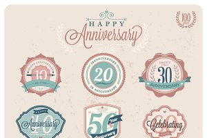 Vector Anniversary labels