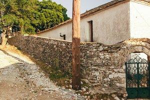 Antique greek street