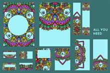 Colorful decorative element.