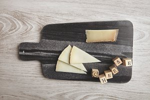 Wine and cheese set