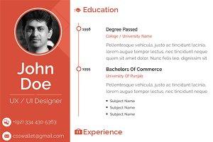 Clean Resume Design