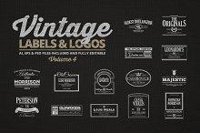 Vintage Labels & Logos Vol.4