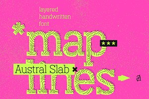 Austral Slab Maplines