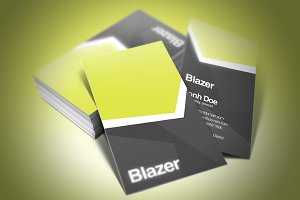 Blazer Business Card