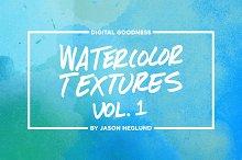 Watercolor Textures Vol. 1