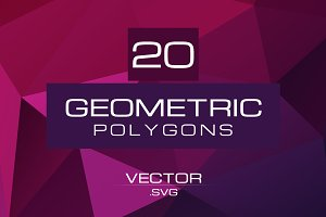 Geometric Polygons Vector Pack