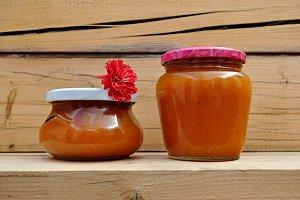 handmade apricot jam