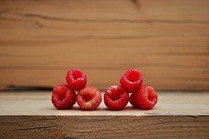 raspberries two triangles