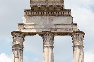 Rome ruins Forum