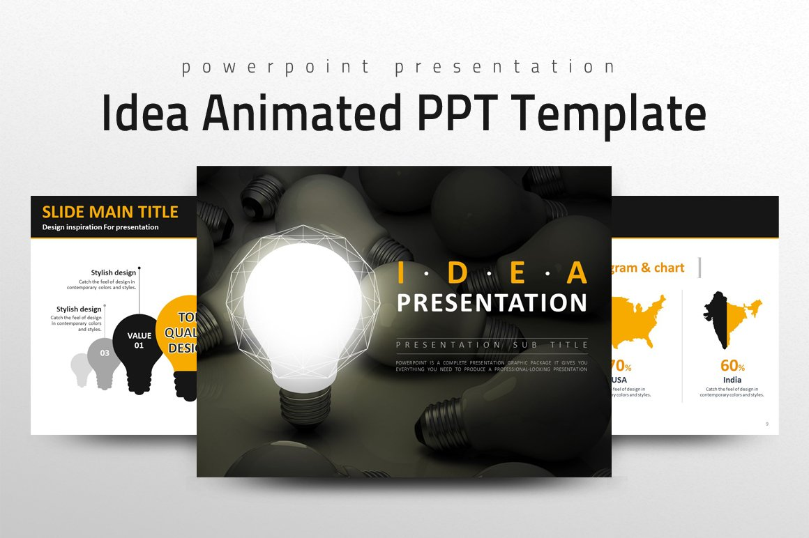Game presentation template presentation templates creative market similar products from all shops company animated ppt template toneelgroepblik Choice Image