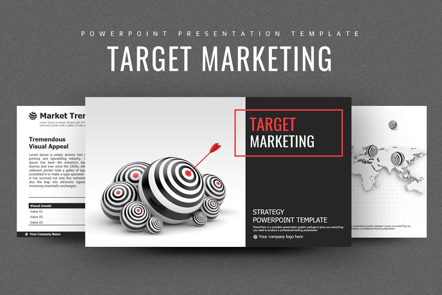 Target Marketing Strategy PPT ~ PowerPoint Templates
