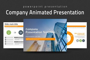 Company Animated PPT Template