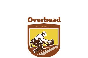 Overhead Roofing Services Logo