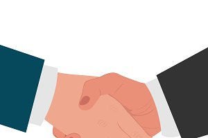 handshake, agreement concept