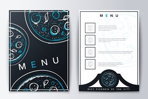 Menu restaurant or coffee.