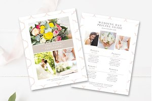 Wedding Price List Template