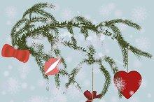 Retro Christmas Season