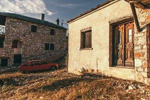 A corner of old slum