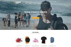 Extremely Sport Shopify Theme