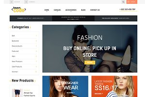 Teencode Shopify Theme
