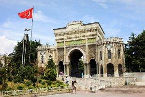 Istanbul University Main Gate