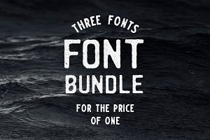 Hand-crafted font bundle. SAVE 65%!