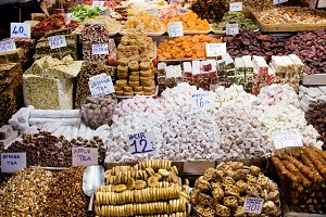 Turkish Delight at Istanbul Market