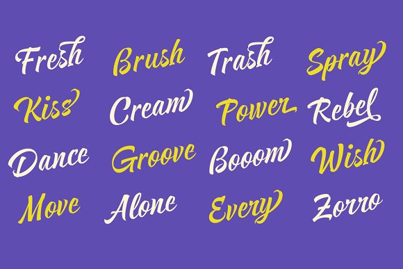 Respect in Script Fonts - product preview 7