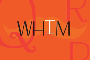 Whim Font Family