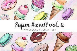 Super Sweet! Vol. 2 Clipart Set