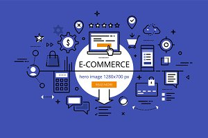 E-commerce hero banners